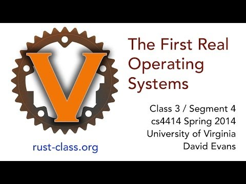 The First Real Operating Systems