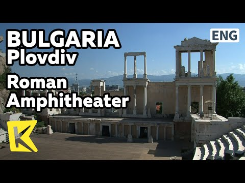 【K】Bulgaria Travel-Plovdiv[불가리아 여행-플로브디프]로마 원형경기장과 원형극장/Roman Stadium/Theatre/Roman Amphitheater