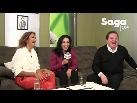 """#SagaLive - Jackie Nava """"La Princesa Azteca"""" y Jorge Muñiz"""