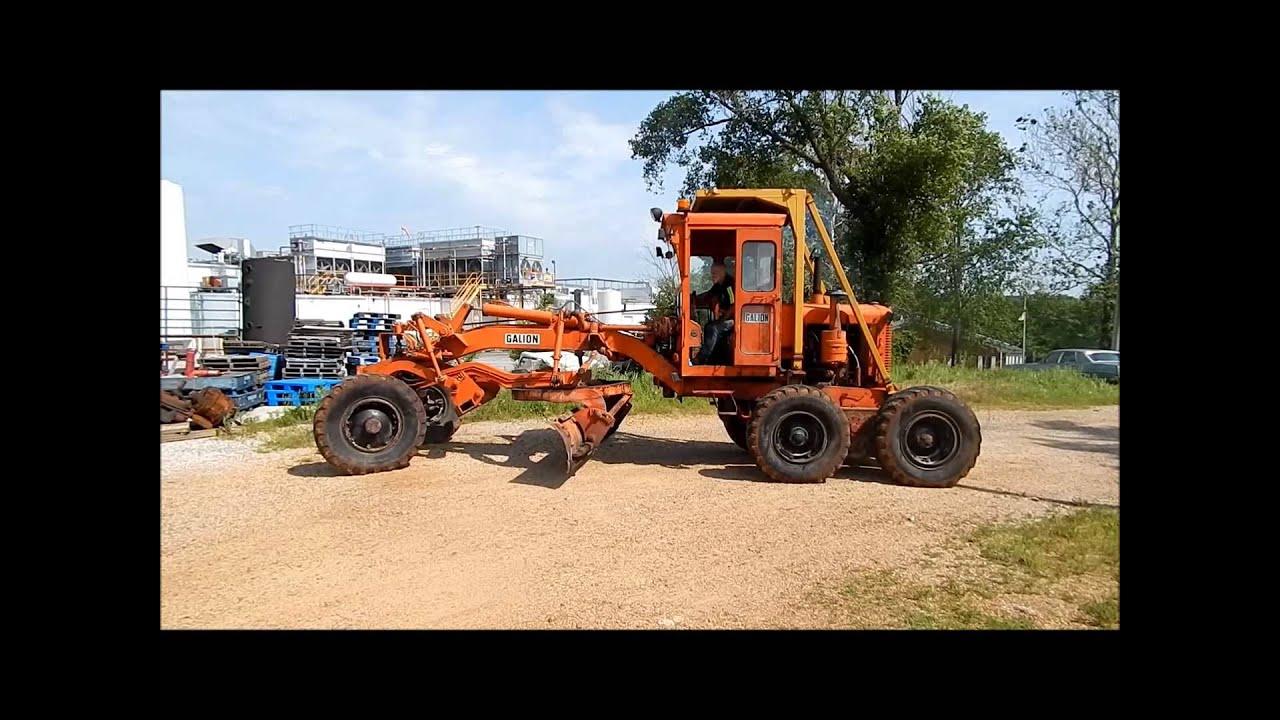 Galion 104B motor grader for sale | sold at auction June 27, 2013