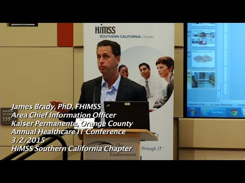 HIT Conference 2015 - Driving Innovation in Health Care with a Consumer Digital Strategy