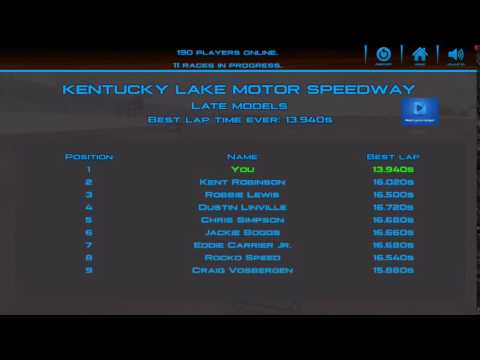 DirtTrackin' Replay at KENTUCKY LAKE MOTOR SPEEDWAY with Late models