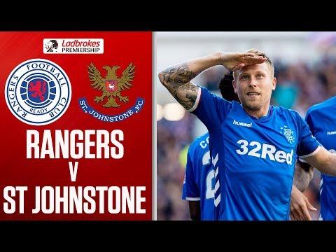 Rangers 5-1 St Johnstone | Rangers hit five to thrash St Johnstone | Ladbrokes Premiership