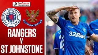 Rangers 5-1 St Johnstone | Rangers hit five to thrash St Johnstone | Ladbrokes Premiership