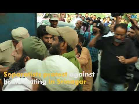 Separatists protest against braid cutting in Srinagar