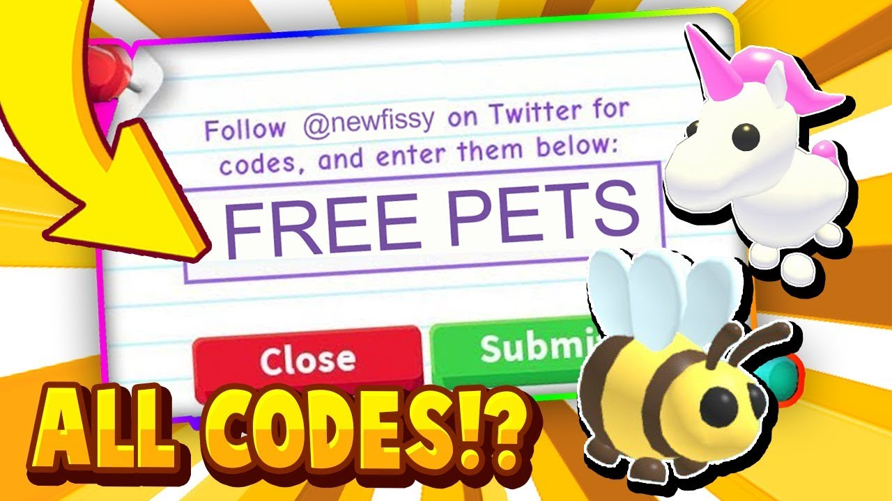All Adopt Me Codes July 2020 In Roblox Trying Roblox Adopt