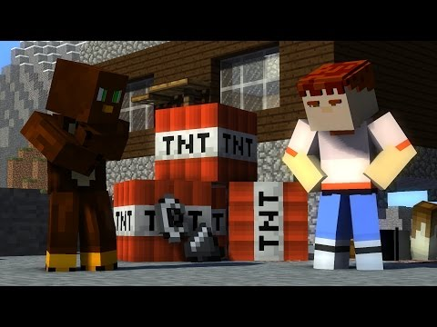 DO NOT EVER BUILD OUT OF TNT! - Minecraft Animation