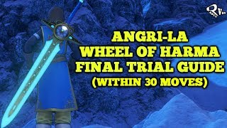 Dragon Quest XI - Wheel of Harma's Final Trial Guide (Within 30 moves)