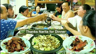 Gambar cover Dinner at Narita's Home | Khmer Tourist Family Small Party