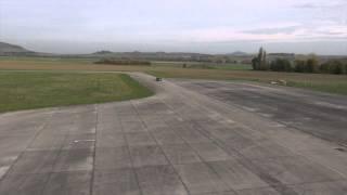 AscTec Falcon 8 Testflug Am Flughafen Mendig