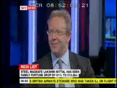 Guy Lawrence Sky News Rich List