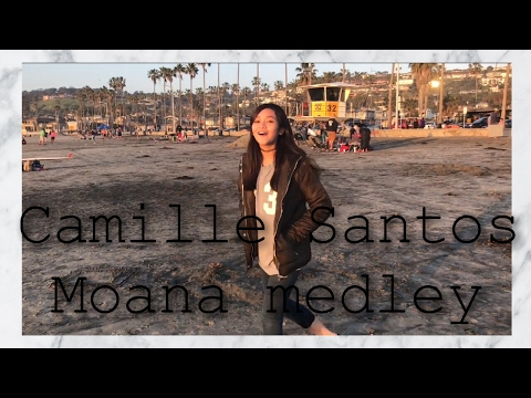 Moana Medley (Acapella Cover) By Camille Santos