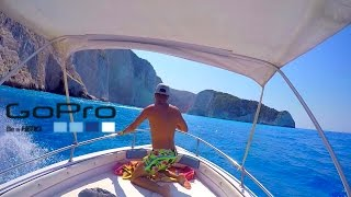 GoPro: Boating to Navagio Beach ZANTE | GREECE