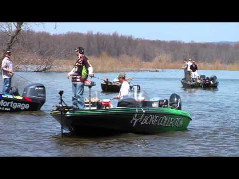 2013 National Walleye Tour RedWing Day 2