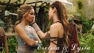 Eretria & Lyria    The Shannara Chronicles (02x01    02x02)
