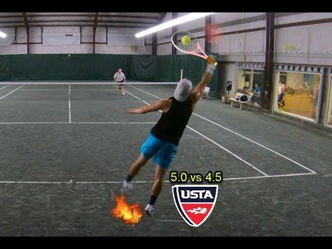 MTC Semi Finals Tennis - Andrew vs Steve Cochrane