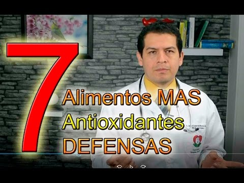mejores 7  alimentos  caseros  antioxidantes defensas  video 737 dr Javier E Moreno