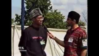 Entrevues en français au Jalsa Salana du Royaume-Uni en 1998