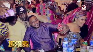 Olokiki Oru Movie Premiere Starring Odunlade Adekola Femi Adebayo amp Lots More