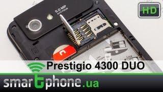 Prestigio MultiPhone 4300 DUO - обзор