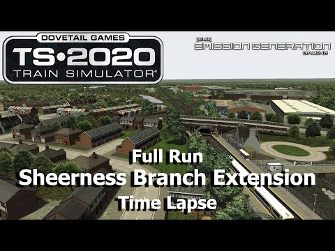 Sheerness Branch Extension - Time Lapse - Train Simulator 2020 |
