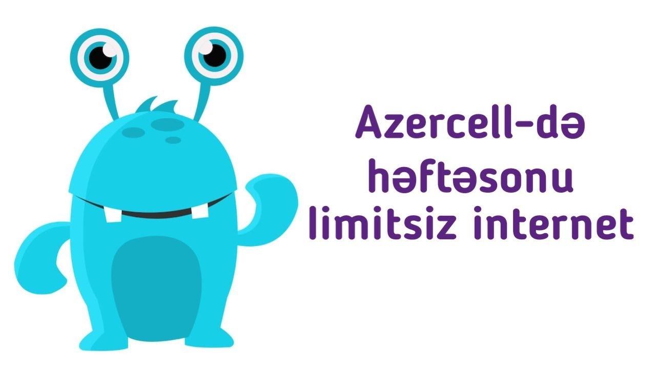 Azercell De Yeni 30 Gb Internet Paket Ozunet Youtube