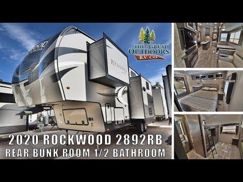 updated-2020-rockwood-2892rb-1/2-bathroom-bunkhouse-outside-kitchen-fifth-wheel-rv-camper