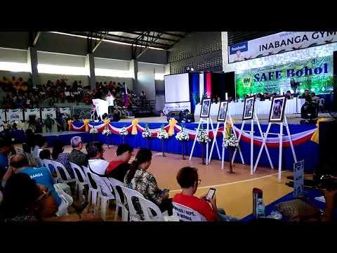 SAFE Bohol: Message of Bohol Gov. Edgar Chatto