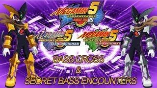 Mega Man Battle Network 5: How to Get Bass Cross + Secret Bass Cutscenes