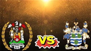 WORKINGTON REDS VS WHITBY TOWN MATCHDAY HIGHLIGHTS!!!