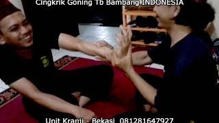Teknik Dasar Silat Cingkrik Goning Tb Bambang INDONESIA