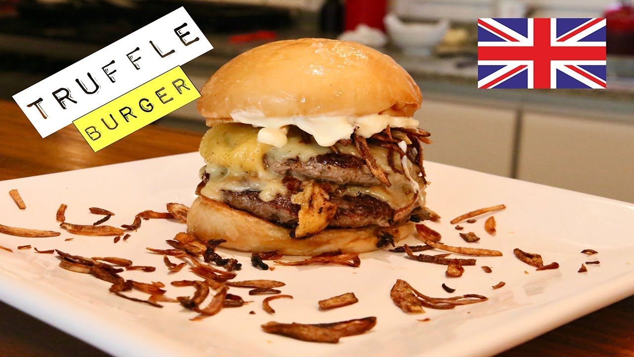 Truffle Burger, London, UK - Sandals en su cocina