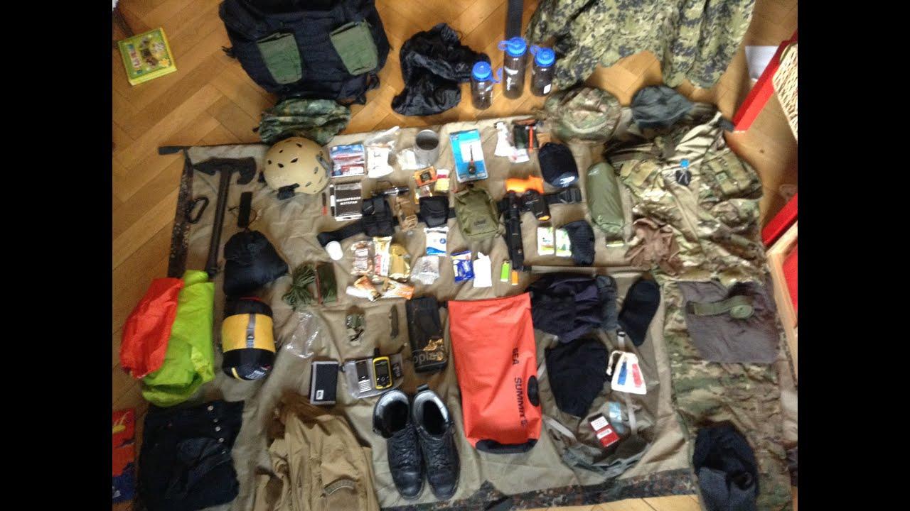 Retex stage d 39 aguerrissement tactique et sac d 39 vacuation - Sac d evacuation ...