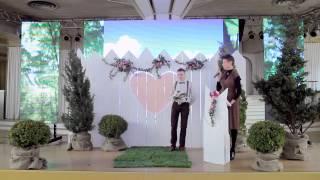 Самая неожиданная свадьба в мире) Одесса(На свадебной выставке, проходившей на Мор вокзале в Одессе, в выставочном зале, состоялось невероятное..., 2015-08-13T11:53:44.000Z)