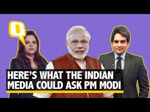 10 Questions Times Now and Zee News Could've Asked PM Modi Instead | The Quint