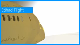 [Roblox] LAST 787 FLIGHT. Etihad Supervisor Flight #2