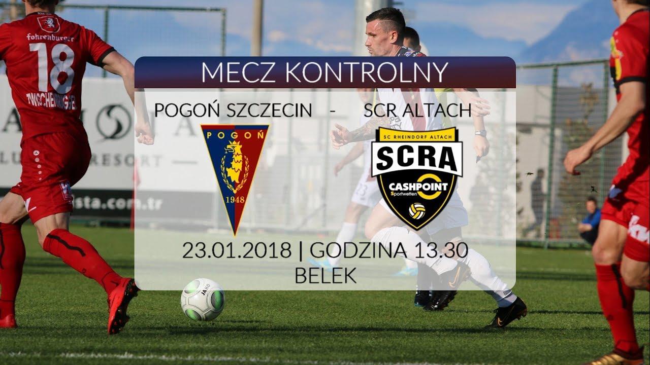 Belek 2018 – Dzień 7 – Pogoń Szczecin – Cashpoint SCR Altach (1:0)