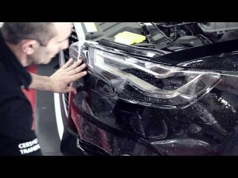 HEXIS – Install paint protection Film - RS6 BODYFENCE
