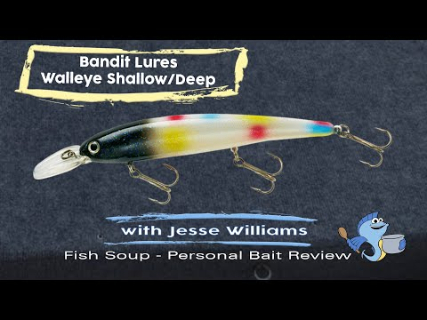 Bandit Lures Walleye Shallow And Deep Personal Bait Review By Jesse WIlliams