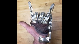 Follow along as I design and build a new mechanical prosthetic hand. Part 1