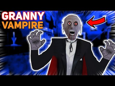 Vampire Granny WANTS US TO JOIN HER SIDE!!! (Bite Us?) | Granny The Mobile Horror Game (Mods)