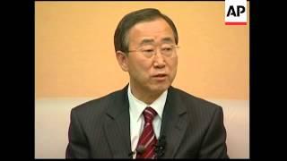 UN Sec Gen-elect Ban ki-Moon comment on NKorea test