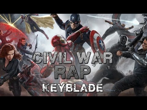 CIVIL WAR RAP - #TeamCap vs #TeamIronMan | Keyblade