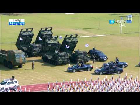 K Force TV - South Korea Armed Forces Day Parade 2017 : Full Army Assets Segment [720p]