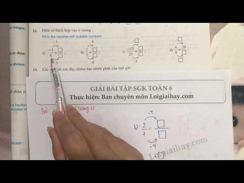 Giải bài 12 trang 11 SGK toán 6 tập 2