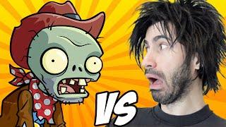 PLANTS VS ZOMBIES vs The World's Worst Gamer!