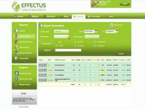 EFFECTUS Admin Demo