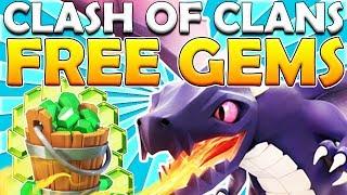 FREE 200 GEMS! MOST FREE GEMS DRAGON EVENT - Clash of Clans