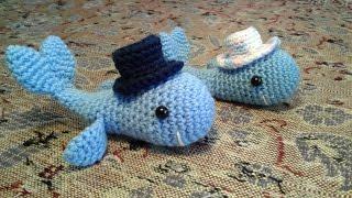 Майстер-клас маленький кіт гачком. Іграшка, пов'язана гачком ( частина 2 плавець, хвіст, капелюх).