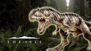 SIMULADOR DE DINOSAURIO - The Isle (Survival Game)